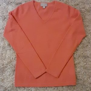 PURE Collection Cashmere sweater sz 4 v neck